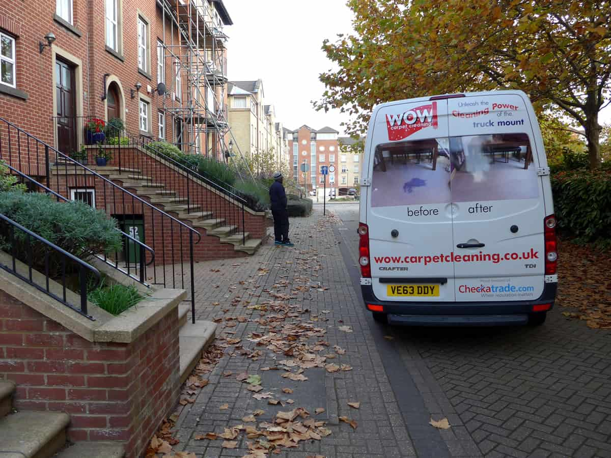 Our carpet cleaners in Ocean Village, Southampton
