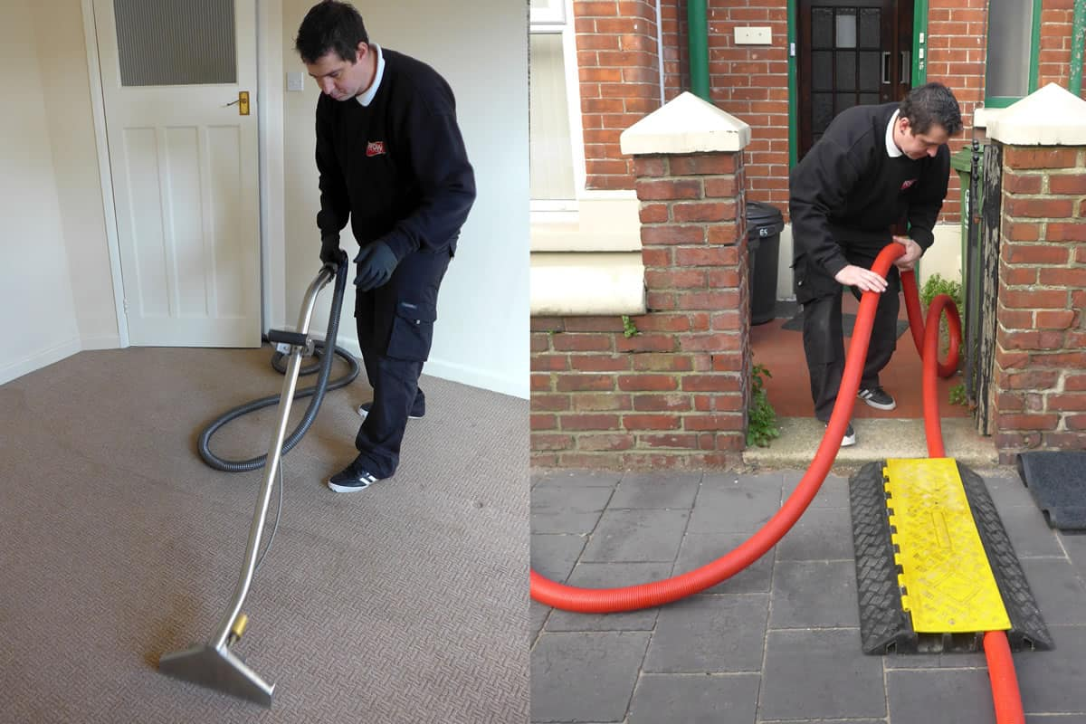 Truck-Mount Carpet Cleaning