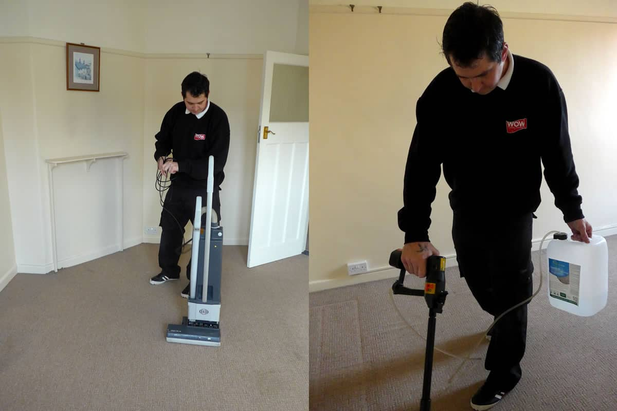 Professional Carpet Vacuum & Pre-Clean Treatment