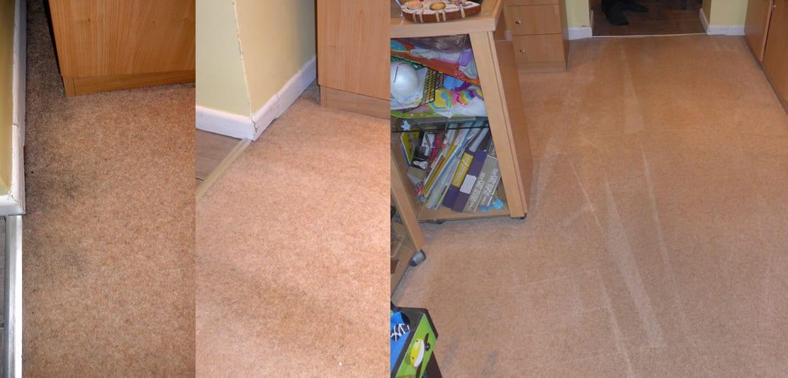 Carpet Edge and Walkway Carpet Cleaning in Shirley, Southampton