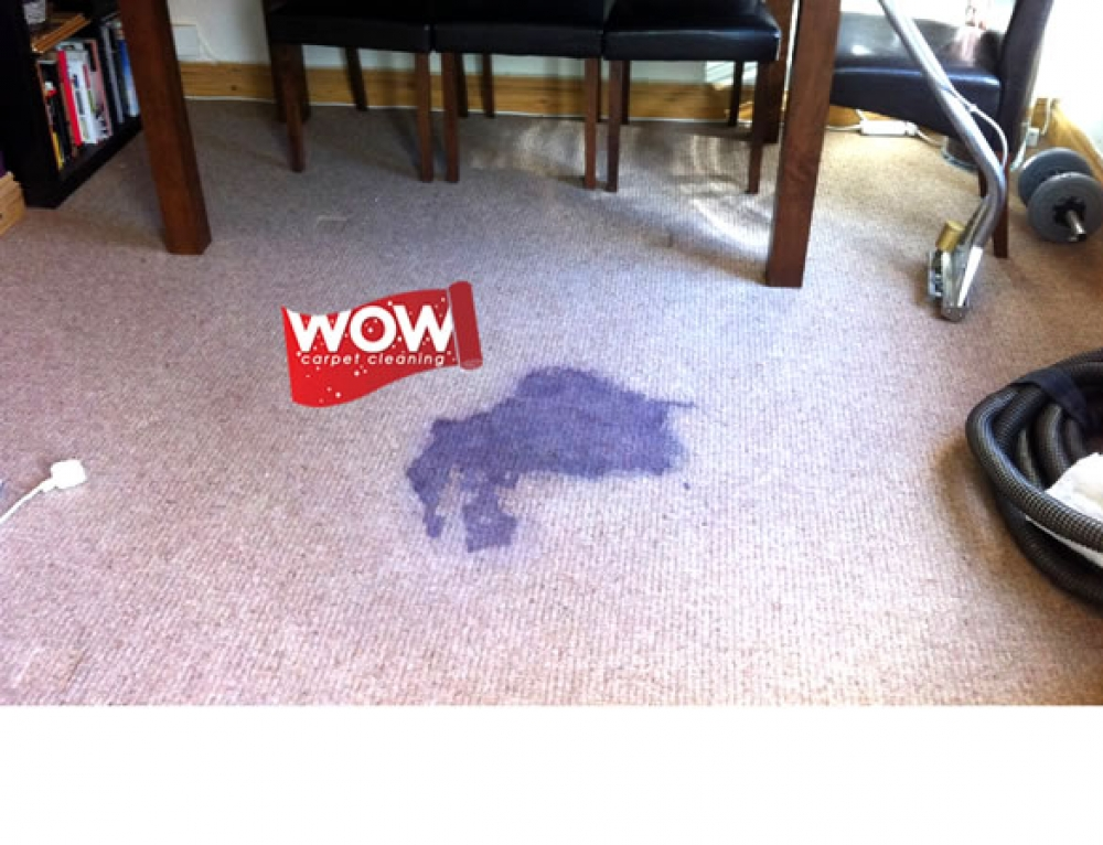 Red Wine Carpet Stain Removal