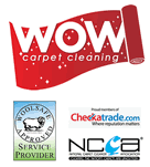 WOW Carpet Cleaning Logo